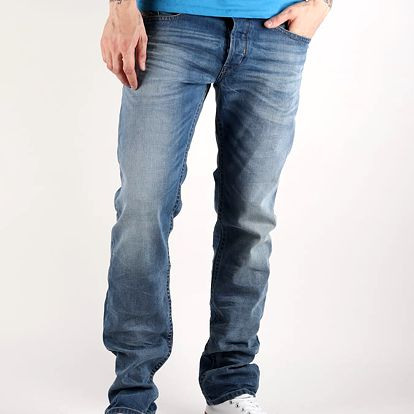 Džíny Diesel Akee L.34 Pantaloni Modrá