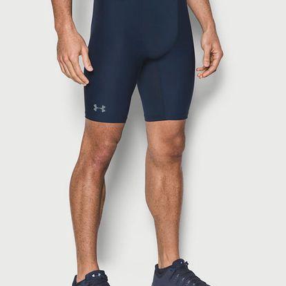 Kompresní šortky Under Armour Heatgear 2.0 Long Short Modrá