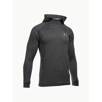 Mikina Under Armour Tech Terry Fitted PO Hoodie Šedá
