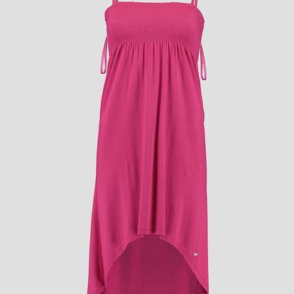 Šaty O´Neill LW JERSEY HIGH/LOW SKIRT Růžová