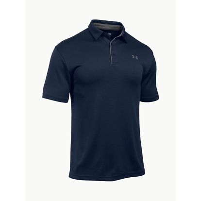 Tričko Under Armour Tech Polo Modrá