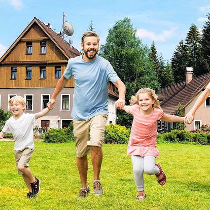 Rodinný pobyt s polopenzí v Jizerských horách