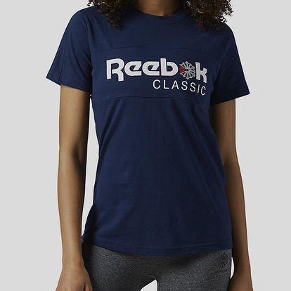 Tričko Reebok Classic F CLASSIC TEE Modrá