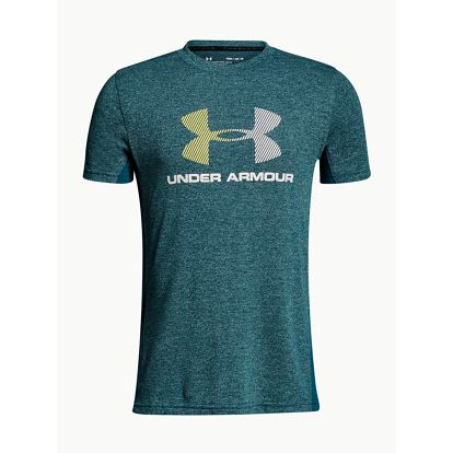 Tričko Under Armour Threadborne Tech SS Q2 Zelená