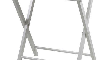 Bílý odkládací stolek Actona Vassoio