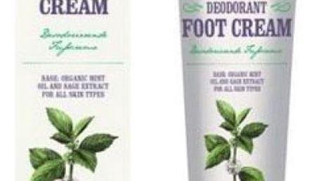 Deodorační krém na nohy Dr. Konopka 75 ml