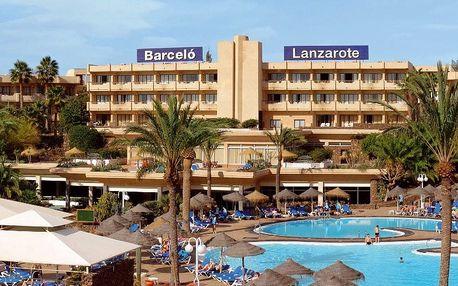 Kanárské ostrovy - Lanzarote na 8 dní, all inclusive s dopravou letecky z Prahy