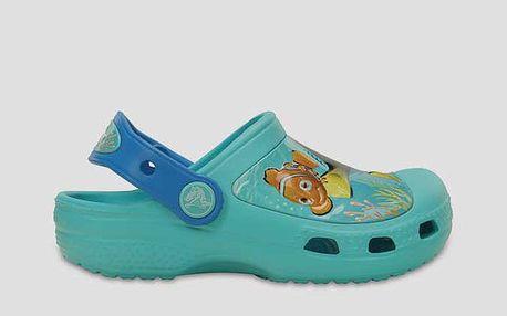 Sandály Crocs CC Finding Dory Clog K Pool Zelená