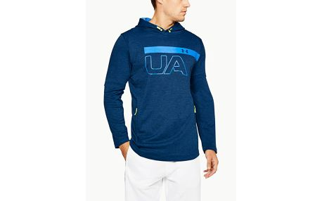 Mikina Under Armour Tech Terry Po Graphic Hoodie Modrá