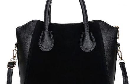 Dámská elegantní kabelka - černá - dodání do 2 dnů