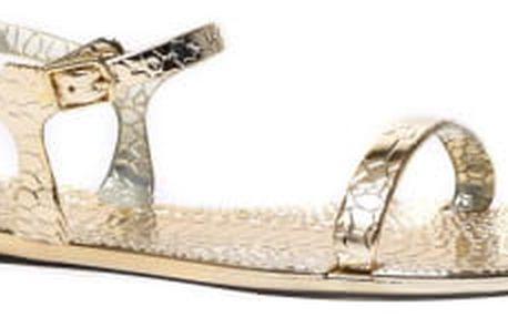 Dámské zlaté sandály Jesie 087