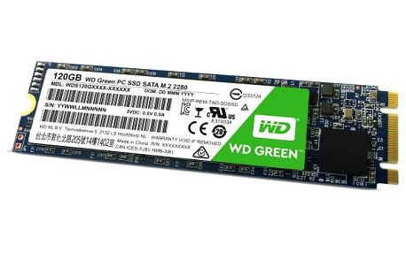 Western Digital Green M.2 3D NAND 120 GB (WDS120G2G0B)