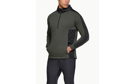 Mikina Under Armour Threadborne Terry Hoody Zelená