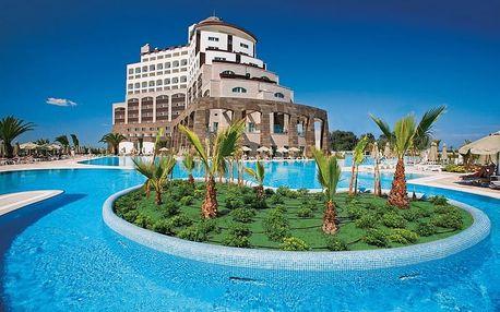 Turecko - Antalya na 8 dní, ultra all inclusive s dopravou Bratislavy, letecky z Budapeště nebo Prahy