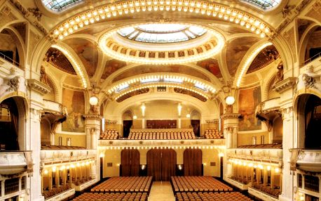Koncert klasické hudby ve Smetanově síni