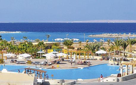 Egypt - Hurghada na 8 dní, all inclusive s dopravou letecky z Brna nebo Prahy