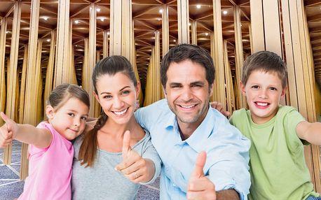 Zrcadlový labyrint: zábava pro celou rodinu