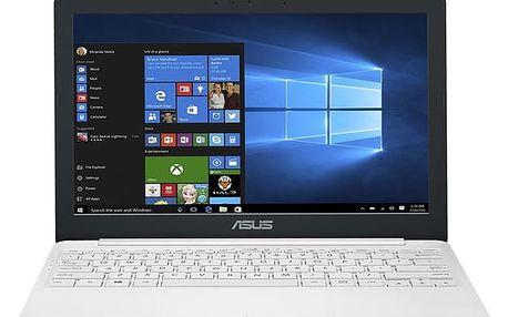 Notebook Asus VivoBook E12 E203NA-FD021TS bílý + dárky (E203NA-FD021TS)