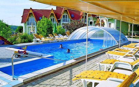Kultovní Balaton a jezero Hévíz relaxačně v rodinném penzionu s neomezeným wellness, fitness, vstupem do lázní a polopenzí