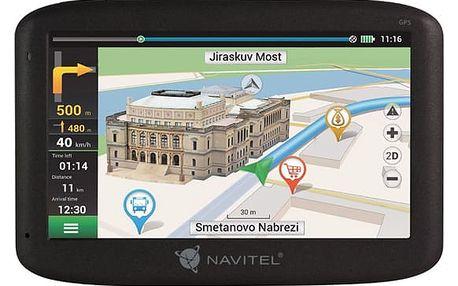 Navigační systém GPS Navitel MS400 černá (8594181740197)