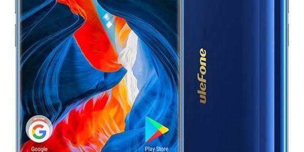 Mobilní telefon UleFone MIX S Dual SIM modrý + dárek Software F-Secure SAFE, 3 zařízení / 6 měsíců v hodnotě 979 Kč