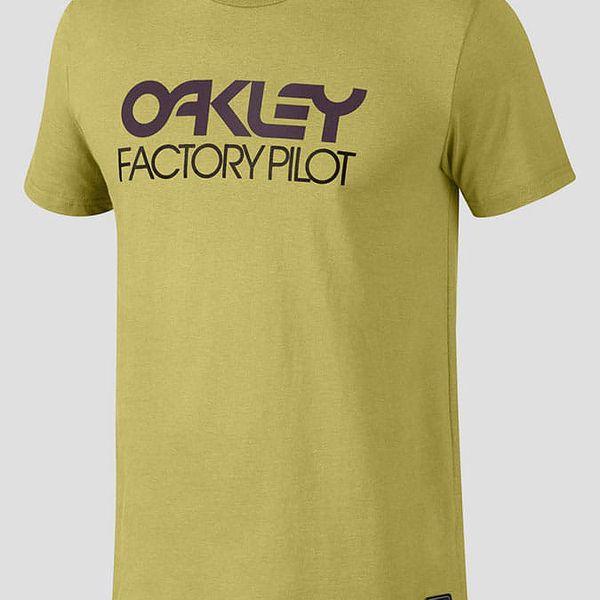 Tričko Oakley FP LOGO S/S TEE Žlutá