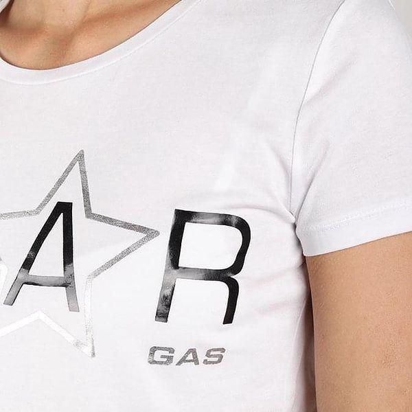 Tričko GAS Halis Star Bílá2