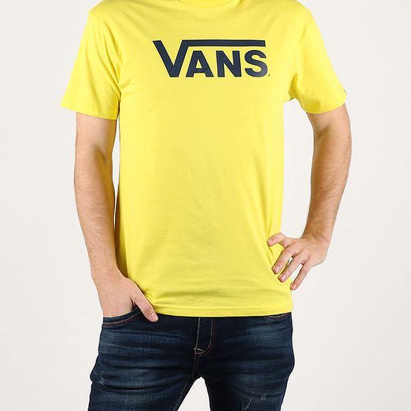 Tričko Vans Mn Classic Green Sheen Žlutá