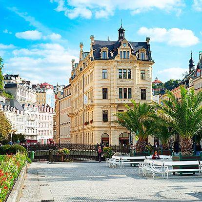 Exkluzivní Karlovy Vary ve 4* hotelu s neomezeným wellness, polopenzí a balíčky lákavých procedur