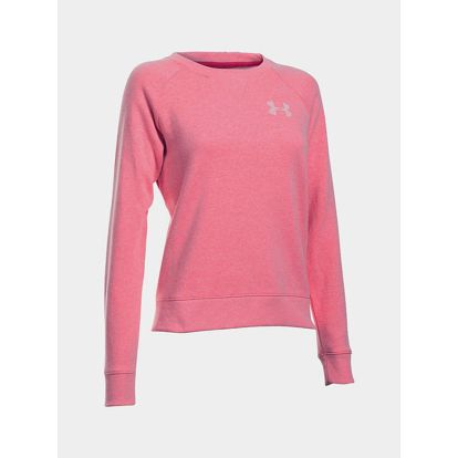 Mikina Under Armour Favorite Fleece Crew Růžová