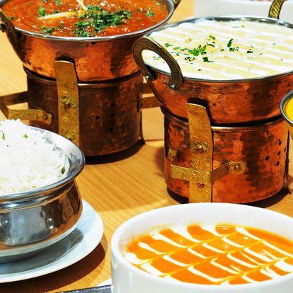 4chodové nepálské menu vč. vege varianty