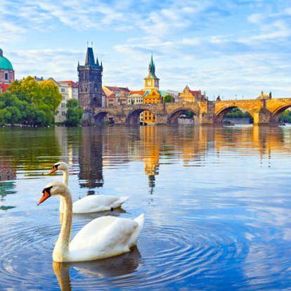 Praha se snídaní a wellness luxusně