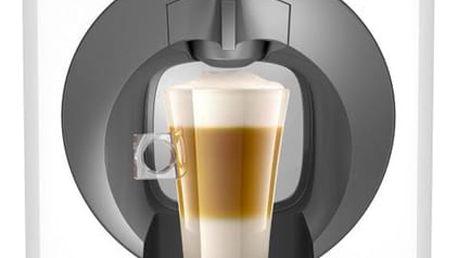 Espresso Krups NESCAFÉ® Dolce Gusto™ Oblo KP110131 bílé + dárek