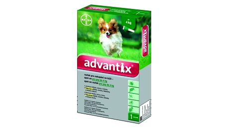 Bayer Advantix Spot - On 1 x 0,4 ml (pes do 4kg)