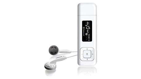 Transcend MP330 8GB (TS8GMP330) bílý