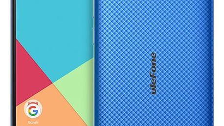 Mobilní telefon UleFone S7 Dual SIM modrý + dárek (6937748731542)