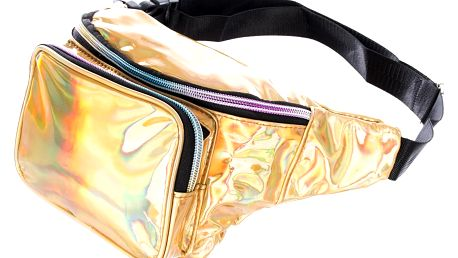 Fashion Icon Flitrovaná ledvinka s holografickým efektem