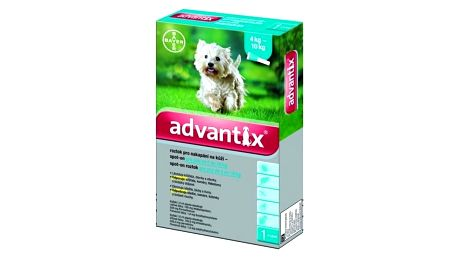Bayer Advantix Spot - On 1 x 1 ml ( pes 4 - 10kg)