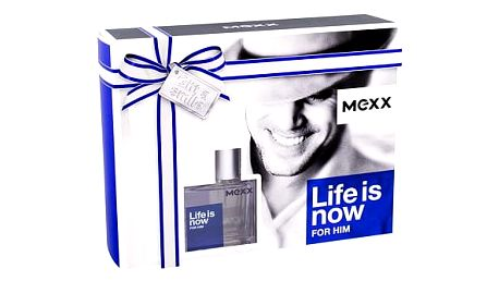 Mexx Life Is Now For Him EDT dárková sada M - EDT 30 ml + sprchový gel 50 ml