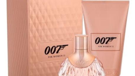 James Bond 007 James Bond 007 For Women II 50 ml dárková kazeta dárková sada pro ženy parfémovaná voda 50 ml + tělové mléko 150 ml