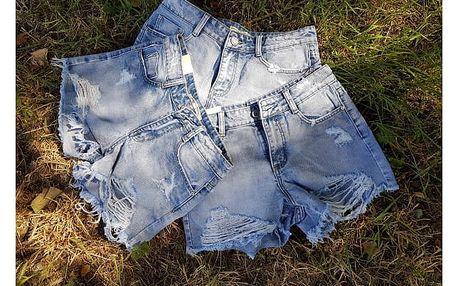 Roztrhané džínové šortky Patty
