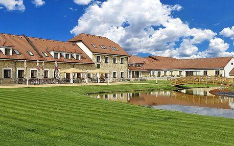 Střední Čechy relaxačně v luxusním hotelu LIONS s neomezeným vstupem do wellness a polopenzí + platnost i přes léto
