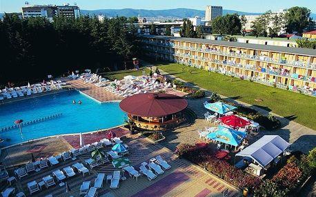 Bulharsko - Slunečné Pobřeží na 8 dní, polopenze, snídaně nebo bez stravy s dopravou letecky z Prahy