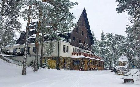 Vysočina u ski areálu se saunou a vířivkou