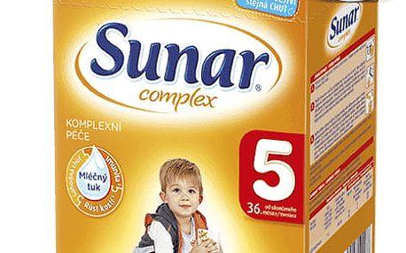6x SUNAR Complex 5 (600 g) – kojenecké mléko