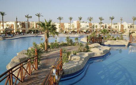 Egypt - Hurghada na 7 dní, ultra all inclusive s dopravou letecky z Prahy