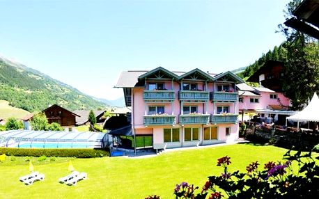 3–8denní wellness pobyt pro 2 s polopenzí v hotelu Margarethenbad**** v rakouských Alpách