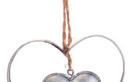 Závěsná dekorace Antic Line Antic Heart