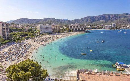 Španělsko - Mallorca na 6 dní, all inclusive nebo polopenze s dopravou letecky z Prahy