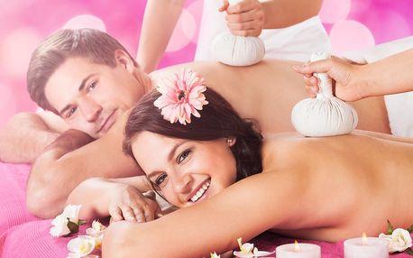 Thajský ráj v centru Prahy - párová relaxace s masáží i saunou